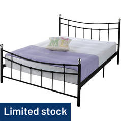 Argos Home Darla Double Bed Frame - Black