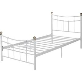 Argos Home Darla Single Bed Frame - White
