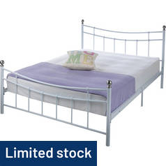Argos Home Darla Double Bed Frame - White