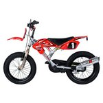 more details on MotoX Bike With Turbospoke Exhaust 16 Inch Kids Bike