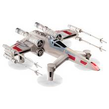 Collectors Edition Star Wars T-65 X WING Star Fighter Quad