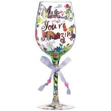 Lolita Mum You're Amazing Wine Glass.