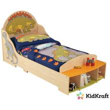 KidKraft Dinosaur Wooden Toddler Bed