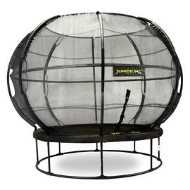 Jumpking 14ft ZorbPOD Trampoline with Enclosure