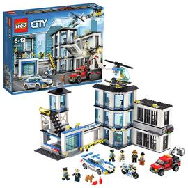 LEGO City Police Station, Helicopter Car & Bike Toys - 60141