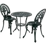 more details on Collection Ascot 2 Seater Cast Alu Bistro Set.