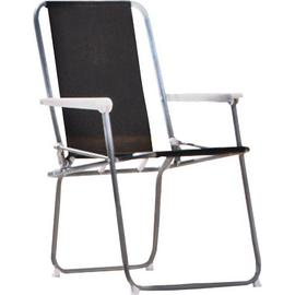 Argos Home Metal Folding Picnic Chair - Black