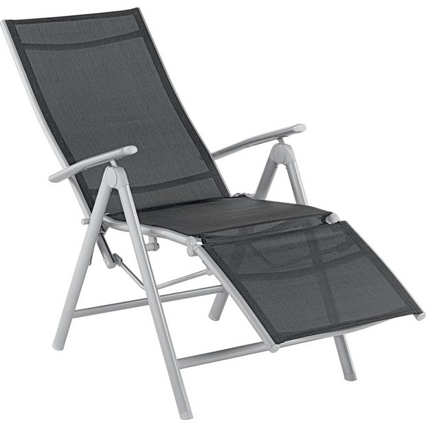Remarkable Buy Argos Home Malibu Metal Recliner Chair Black Garden Chairs And Sun Loungers Argos Unemploymentrelief Wooden Chair Designs For Living Room Unemploymentrelieforg