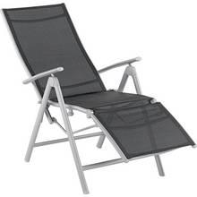 Argos Home Malibu Metal Recliner Chair - Black
