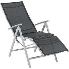 Argos Home Malibu Metal Recliner Chair - Black