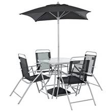 HOME Atlantic 4 Seater Metal Patio Set