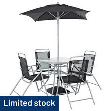 Argos Home Atlantic 4 Seater Metal Patio Set