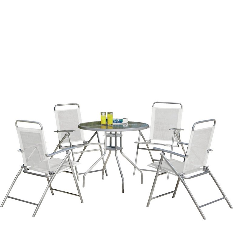 Garden Furniture 4 Seater buy simple value 4 seater patio furniture set at argos.co.uk