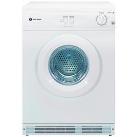 White Knight C44A7W 7KG Vented Tumble Dryer - White
