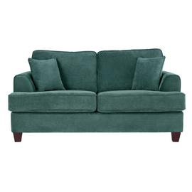 Argos Home Hampstead 2 Seater Fabric Sofa Bed - Ocean Blue