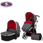 more details on Obaby Chase 2 in 1 Stroller & Carrycot – Crossfire.