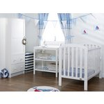 more details on OBaby Lily Furniture & Bedding Set - White.