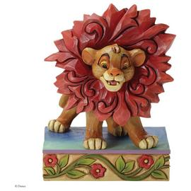 Disney Traditions Simba Can't Wait To Be King Figurine.