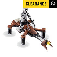 Collectors Edition Star Wars 74-Z SPEEDER BIKE Battle Quad