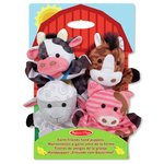 more details on Melissa and Doug Farm Hands Animal Puppets.