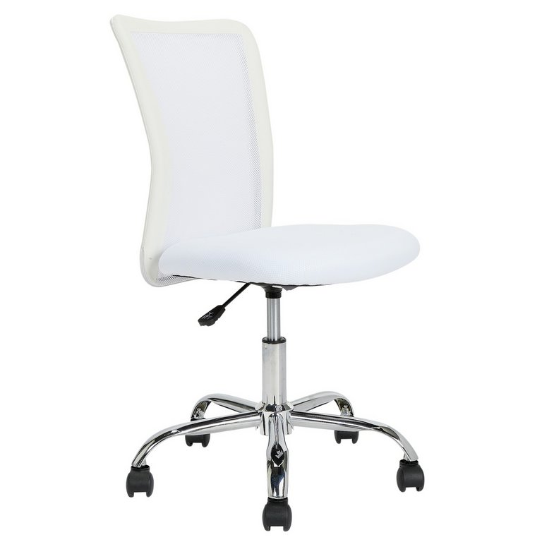 Buy HOME Reade Mesh Chair White at Argos Your line Shop for fice chairs fice furniture Home and garden