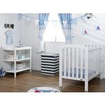 more details on OBaby Lily 2 Piece Room Set - White.