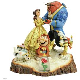 Disney Traditions Tale as old as Time Figurine.