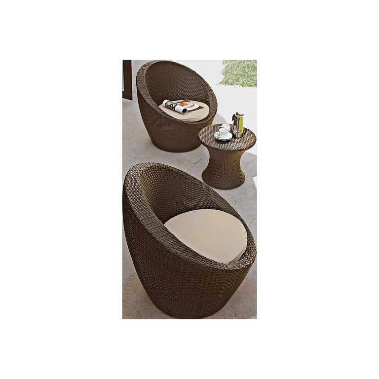 Garden Furniture Apple Pod buy home rattan effect 2 seater duck egg patio set with cushions
