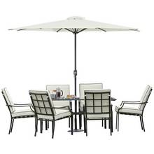 Argos Home Barcelona 6 Seater Metal Patio Set