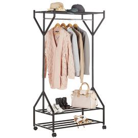 Argos Home Gosford Clothes Rail - Black