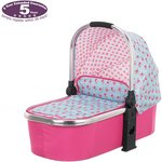 more details on OBaby Chase Carrycot - Cottage Rose.