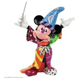 Disney By Britto Sorcerer Mickey Figurine.