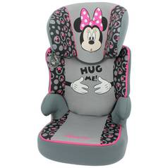 TT Disney Minnie Mouse Group 2/3 Booster Car Seat - Pink