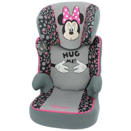 Disney Minnie Mouse Group 2/3 Booster Car Seat - Pink