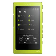 Sony NWA35 Walkman High Resolution 16GB MP3 Player - Yellow