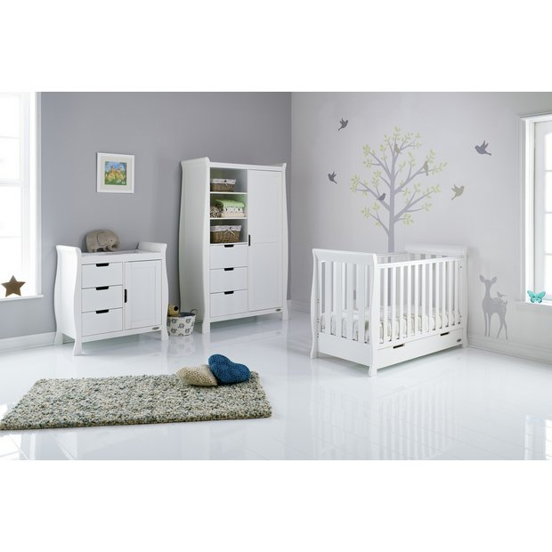 Buy OBaby Stamford Mini 3 Piece Room Set