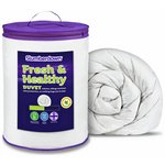 more details on Slumberdown Fresh and Healthy 13.5 Tog Duvet - Double.