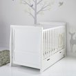 more details on OBaby Stamford Cot Bed - White.