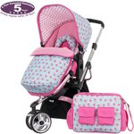 more details on Obaby Chase Stroller – Cottage Rose.
