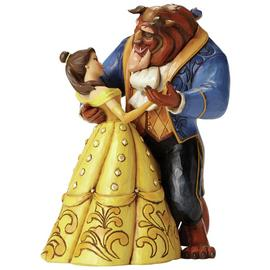 Disney Traditions Moonlight Waltz Belle & Beast Figurine.