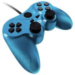 more details on Gioteck VX3 Wired PS3 Controller - Blue.