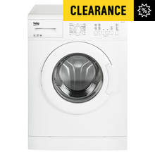 Beko WM6120W 6KG 1200 Spin Washing Machine - White