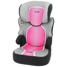 Nania Befix SP First Pop Group 2/3 Booster Car Seat - Pink