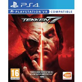 Tekken 7 PS4 Game (PS VR Compatible)