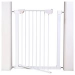 more details on Extra Tall Pressure Fit Pet Gate - White.