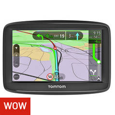 TomTom VIA 52 5 Inch Traffic UK & ROI Lifetime Maps Sat Nav