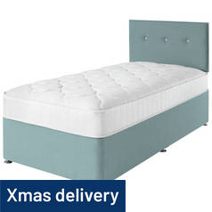 Airsprung Dalham Memory Blue Divan Bed - Single