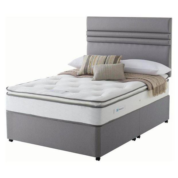 Buy Sealy 1400 Pocket Memory Pillowtop Double Divan At Your Online Shop For Divan