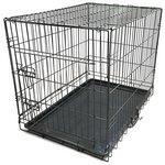 more details on King Pets Single Door Pet Cage - Medium.