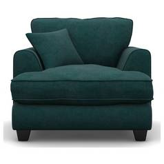 Argos Home Hampstead Fabric Armchair - Ocean Blue